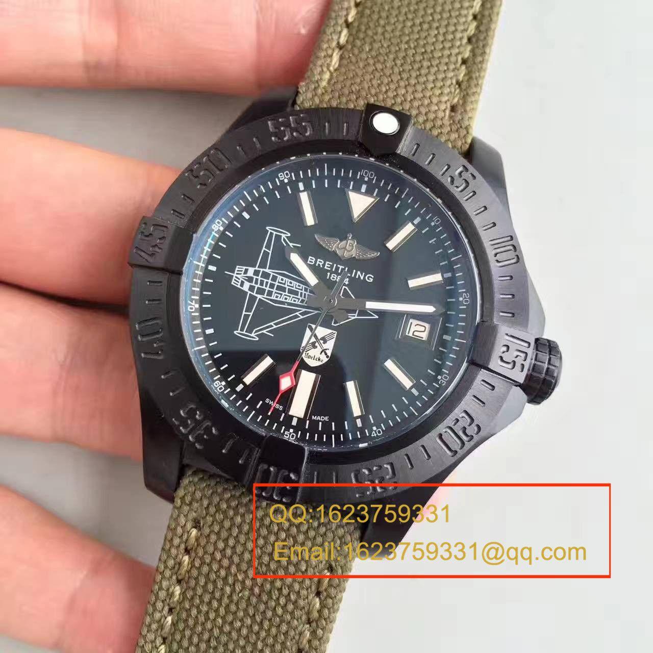 【BL一比一超A复刻手表】百年灵复仇者二代海狼限量版纪念德国战斗机版《斯瓦尔德·伯尔克Oswald Boelcke 》 / BL067