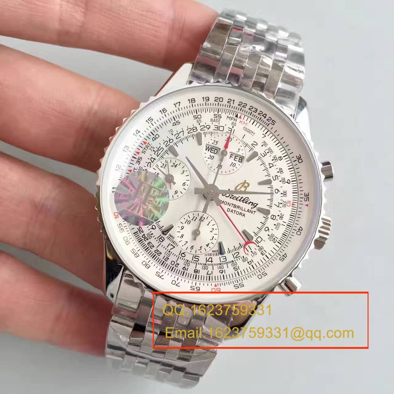 【JF一比一高仿手表】百年灵蒙柏朗计时系列A2133012-B571白盘腕表 / BL041