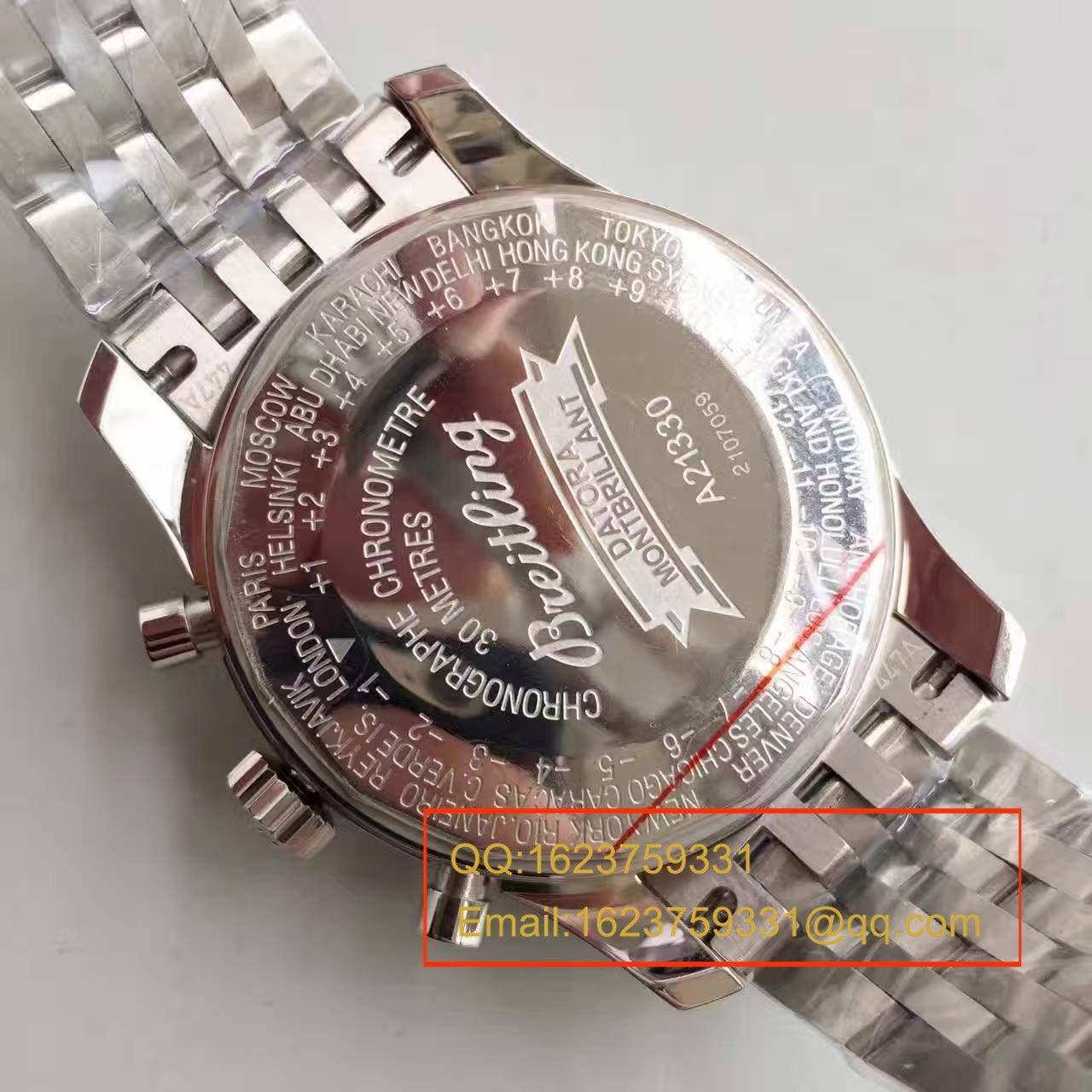 【JF一比一高仿手表】百年灵蒙柏朗计时系列A2133012-B571棕盘腕表