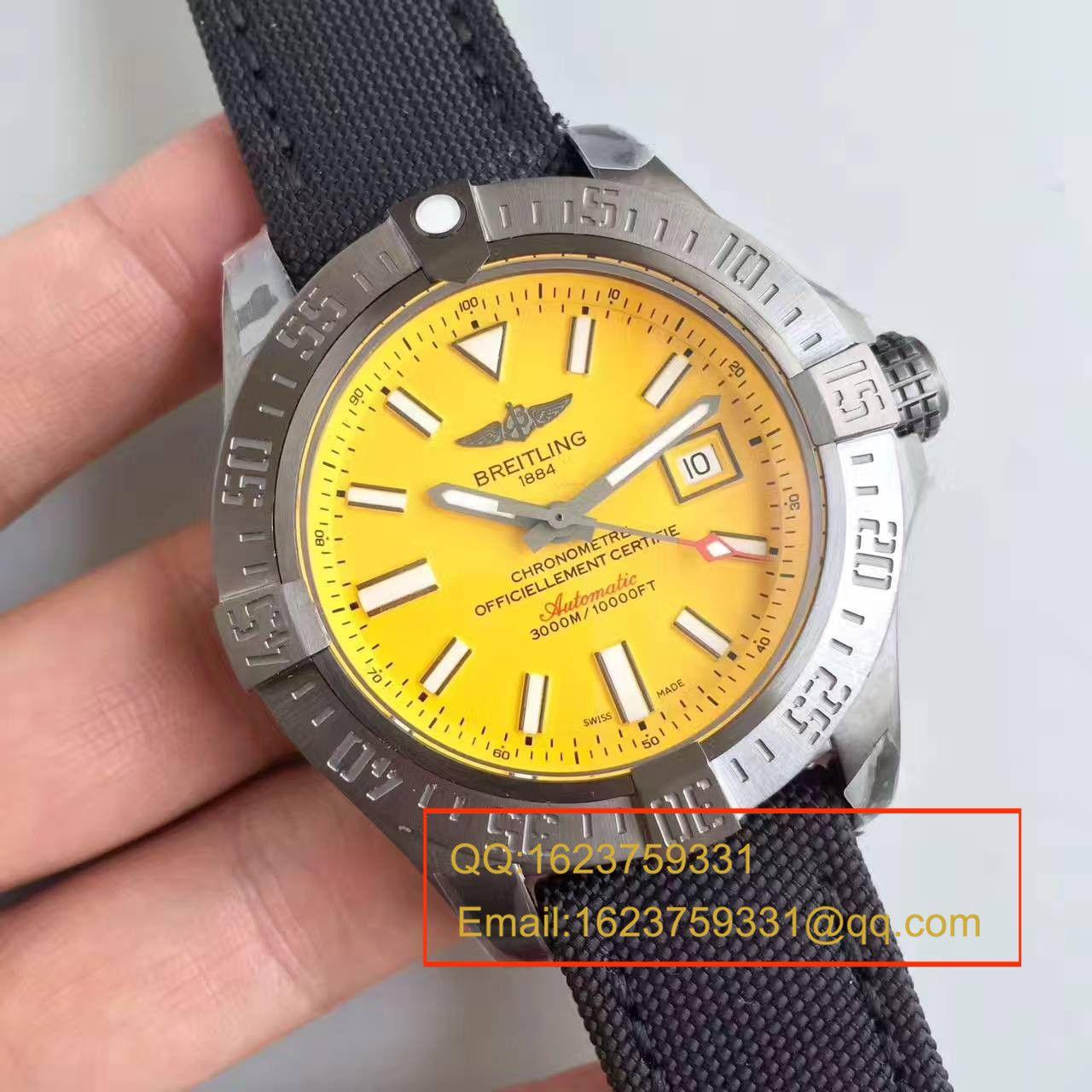 【GF厂一比一超A高仿手表】【游泳神器】百年灵复仇者二代深潜海狼系列黄鸟 M17331E2|I530|109W|M20BASA.1腕表