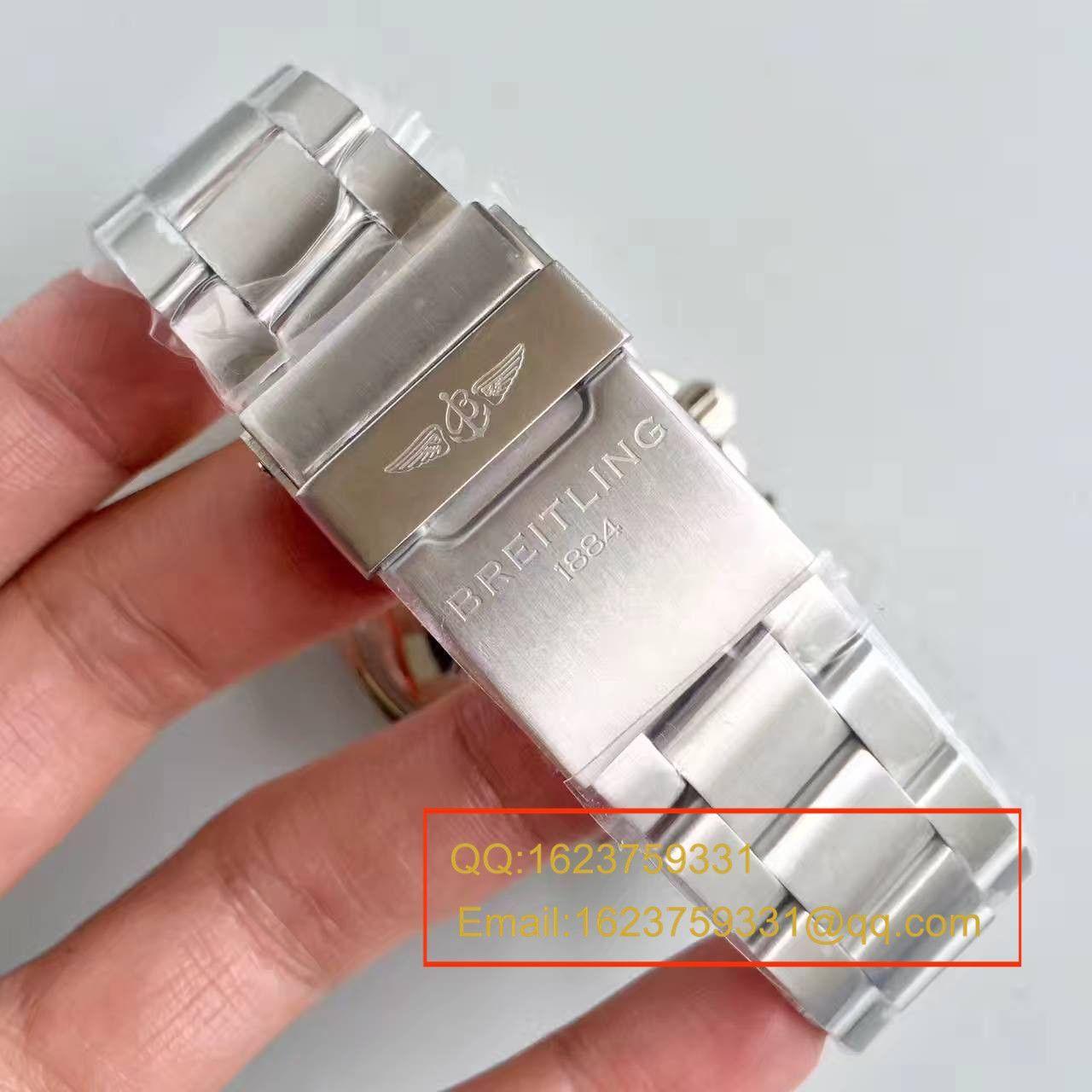 【GF一比一超A高仿手表】百年灵超级海洋系列A13341C3/G782/162A钢鱼计时腕表