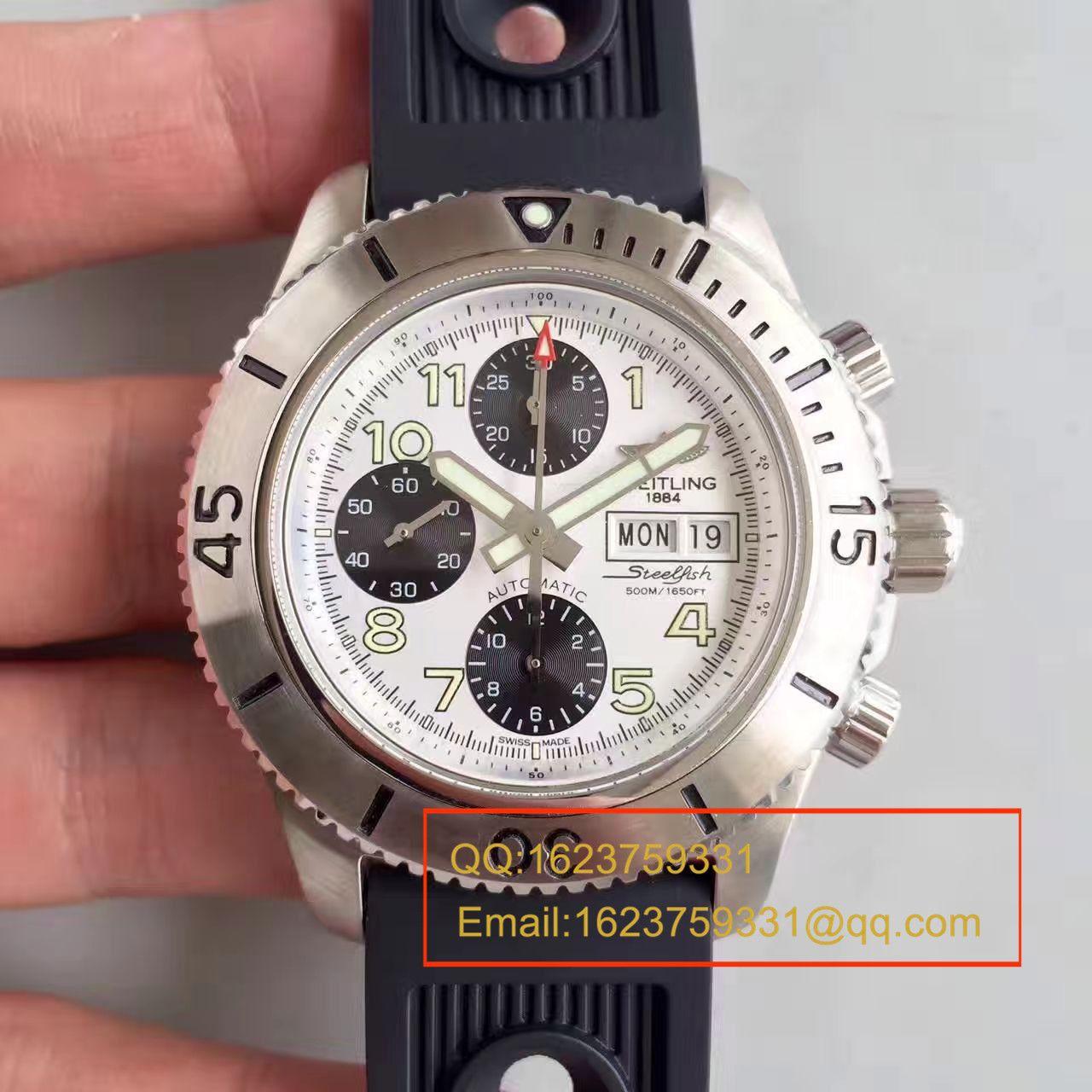 【GF一比一超A精仿手表】百年灵超级海洋系列A13341C3/C893/200S/A20DSA.2钢鱼计时腕表