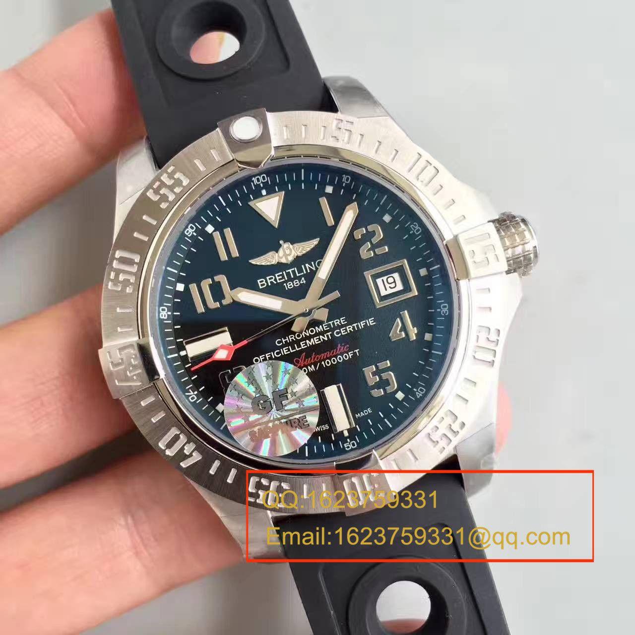 【GF游泳神器一比一超A高仿手表】百年灵复仇者深潜海狼腕表系列 A1733010/BA05腕表 / BL008