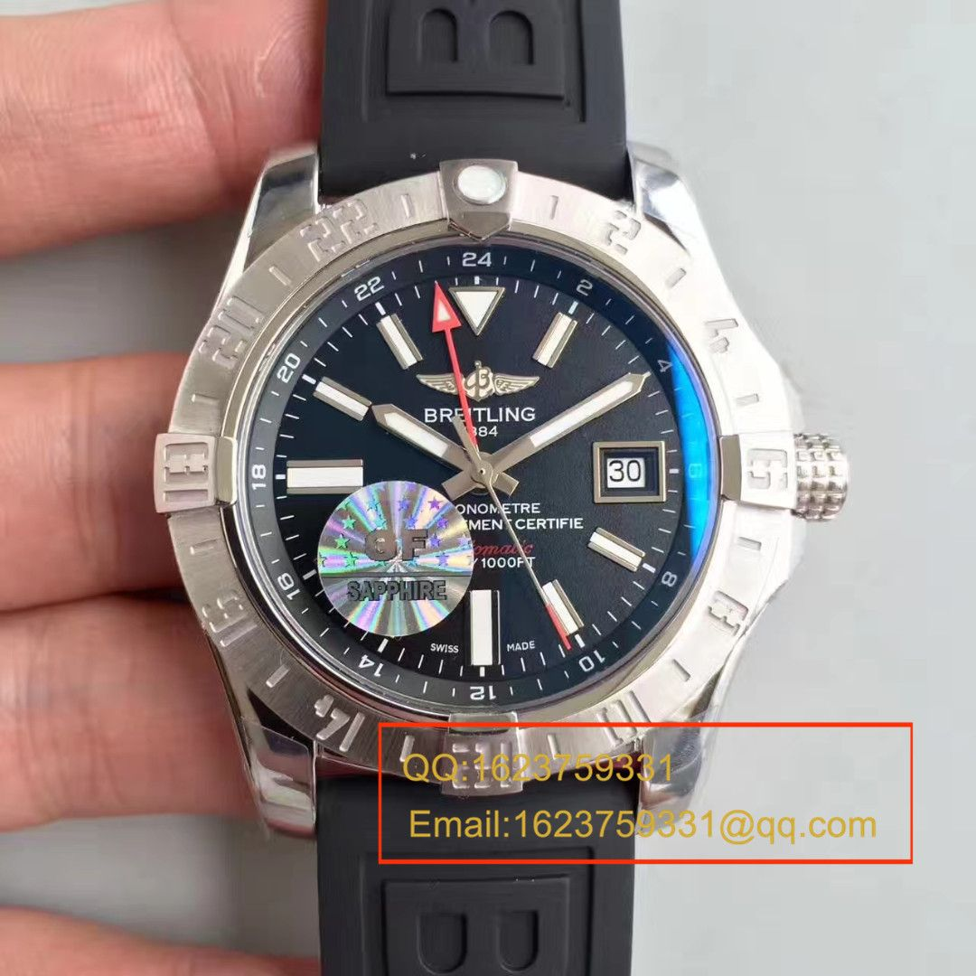 【GF厂一比一复刻手表】百年灵 复仇者二代世界时间系列A3239011/BC34/170A腕表
