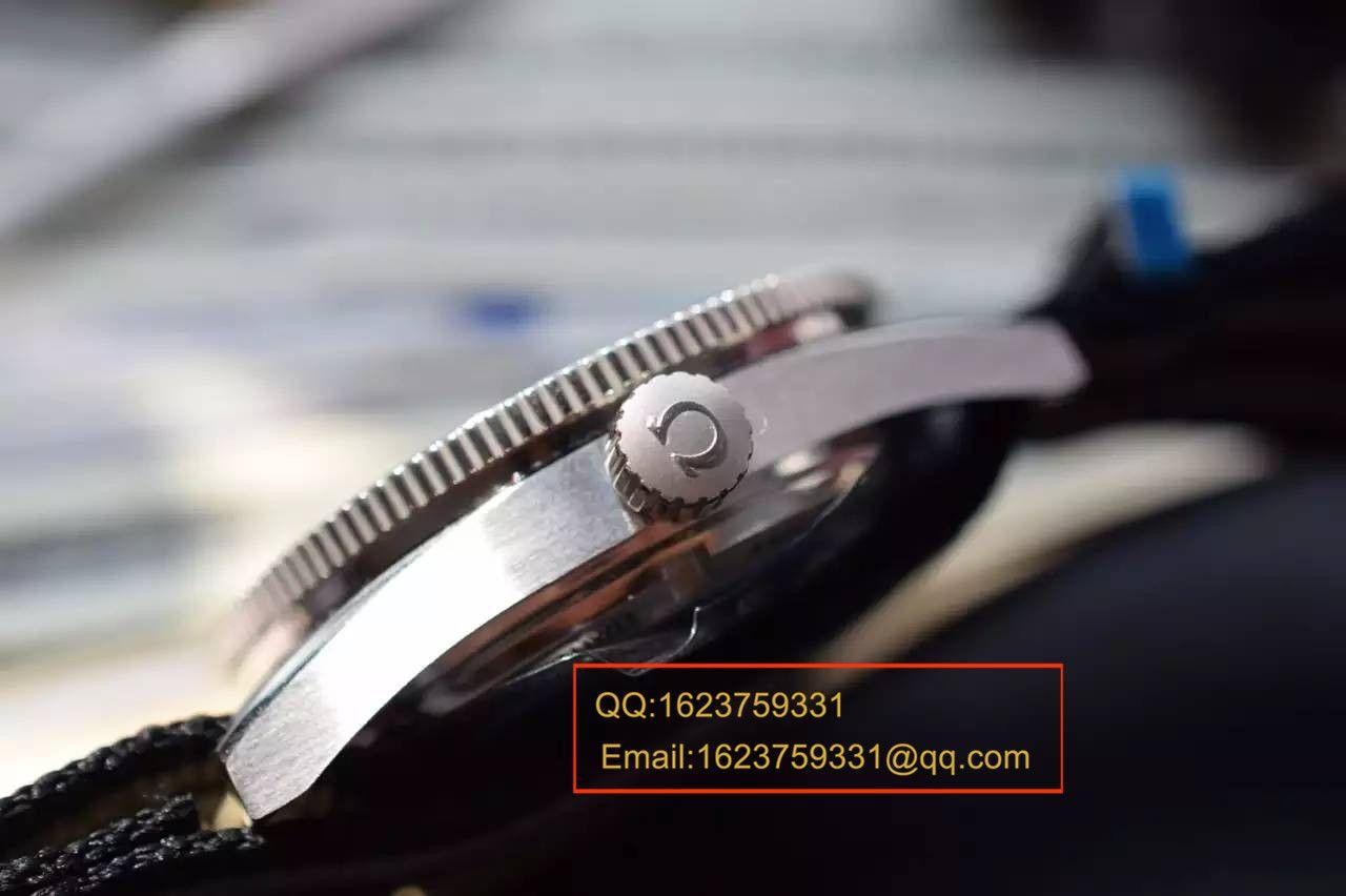 【KW厂超A精仿手表】欧米茄海马系列占士邦007特别版之幽灵党 233.32.41.21.01.001 男士机械腕表 / MAG010