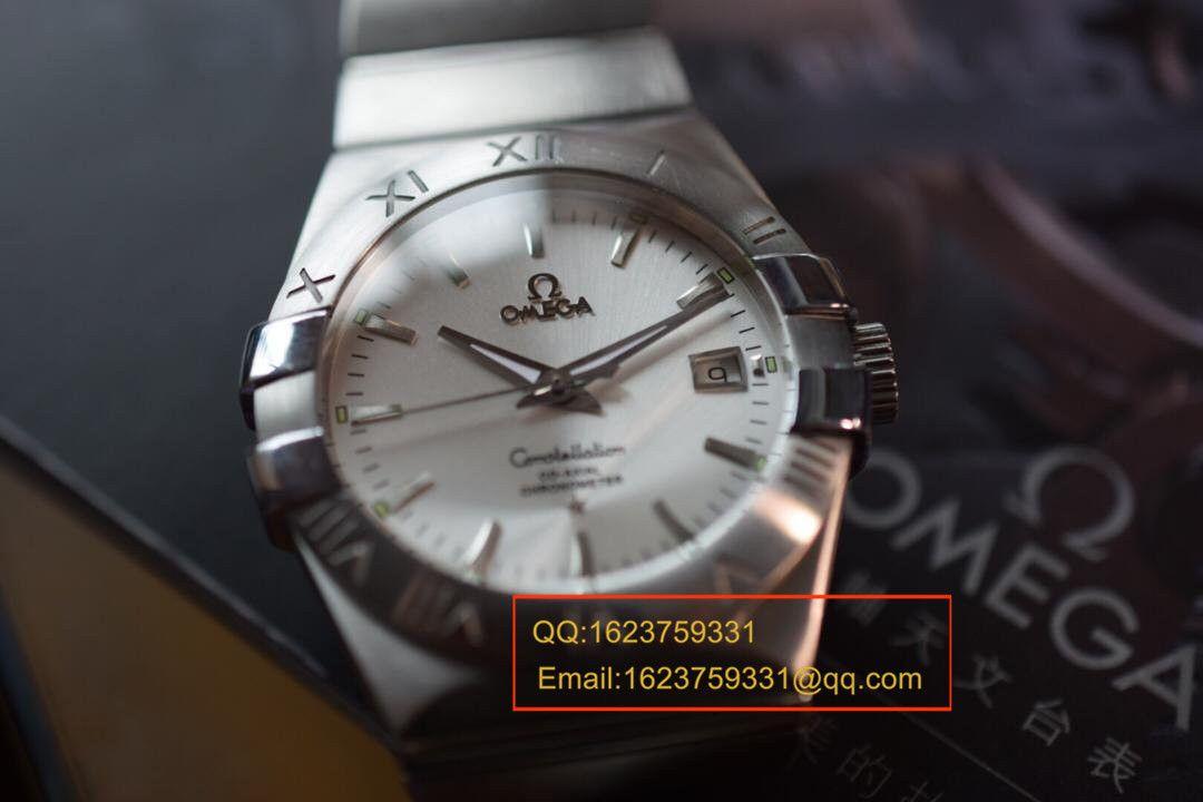 【HBBV6厂1:1超A高仿手表】欧米茄星座系列123.10.38.21.02.001腕表 / MAE217