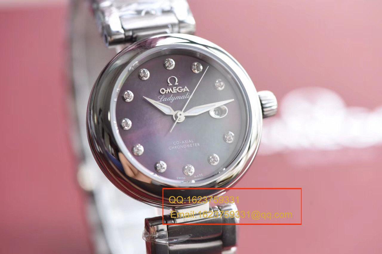 【HBBV6厂一比一超A高仿手表】欧米茄碟飞系列425.30.34.20.57.004鸟巢女士腕表