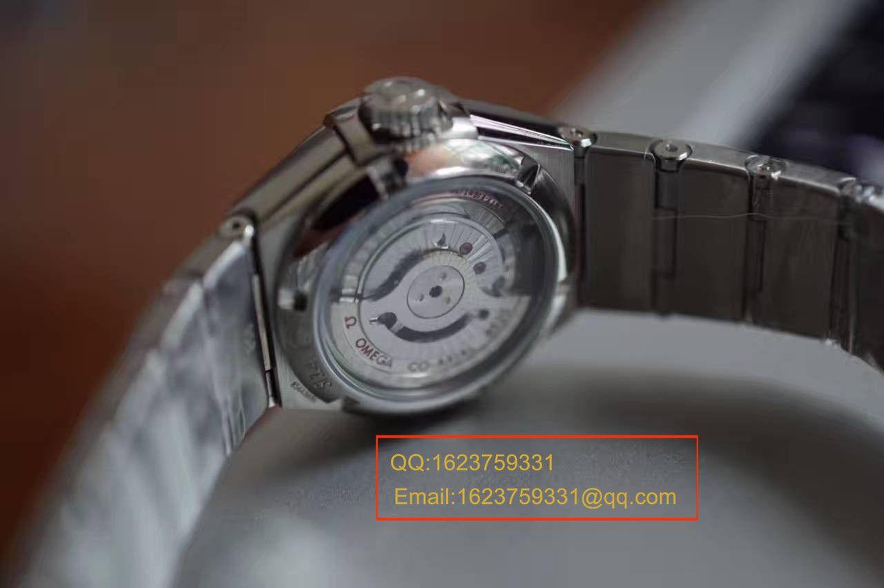【V6厂一比一超A精仿手表】欧米茄星座轻羽系列123.15.27.20.55.001 女士机械手表