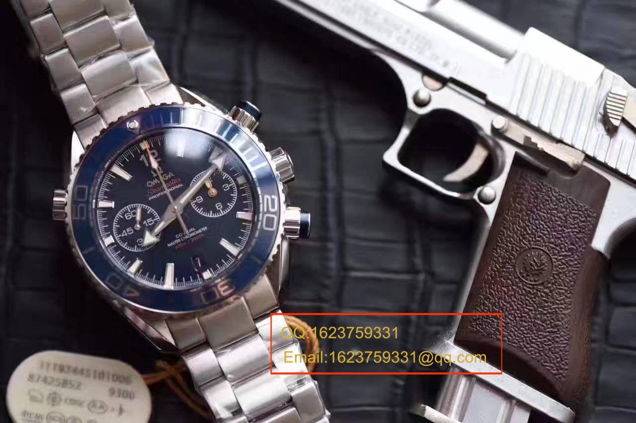 【视频测评OM厂一比一超A高仿手表】欧米茄海马系列215.30.46.51.03.001腕表 / M113