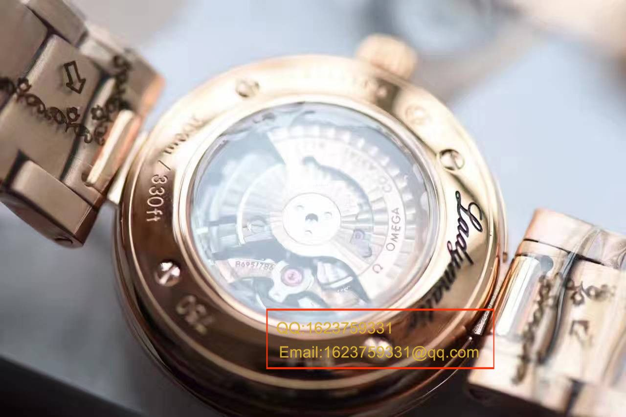 【HBBV6厂一比一精仿手表】欧米茄碟飞系列425.60.34.20.55.001女士机械腕表【欧米茄鸟巢】