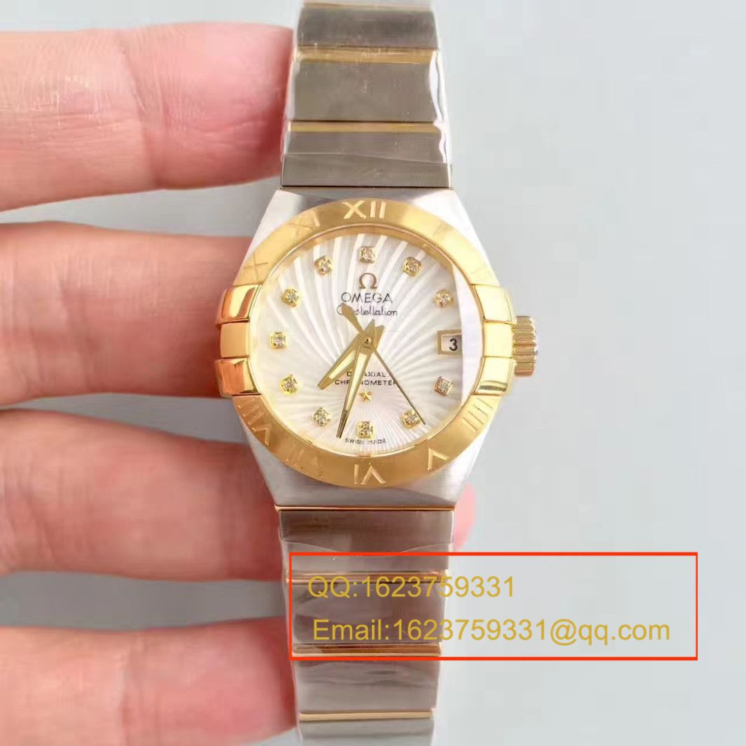 【SSS厂1:1复刻女士腕表】欧米茄星座PLUMA轻羽系列123.15.27.20.51.001腕表