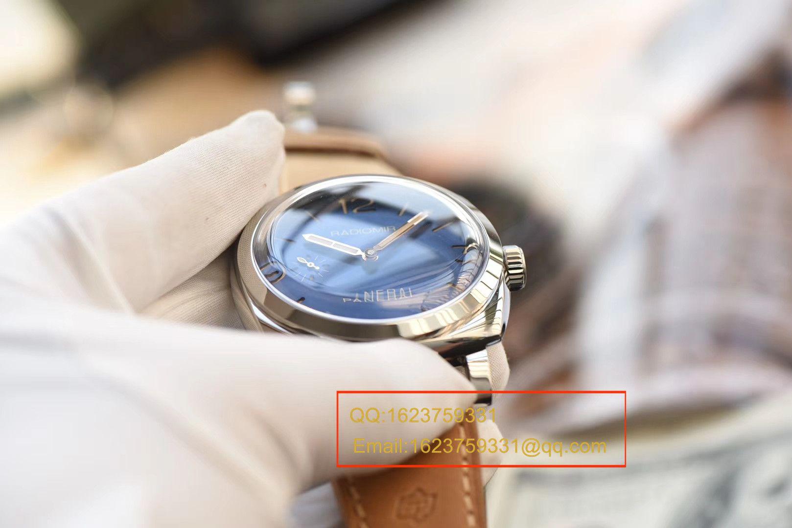 【视频评测SF1:1超A高仿手表】沛纳海2015年新款蓝面PAM00690腕表 / PAMBB00690