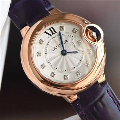 【HBBV6厂顶级复刻手表】卡地亚蓝气球系列WE902050女士小号蓝气球28毫米石英腕表