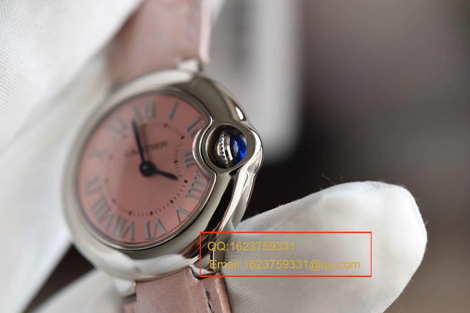 【HBBV6一比一超A精仿手表】卡地亚蓝气球系列W6920038小号蓝气球28毫米女士石英腕表