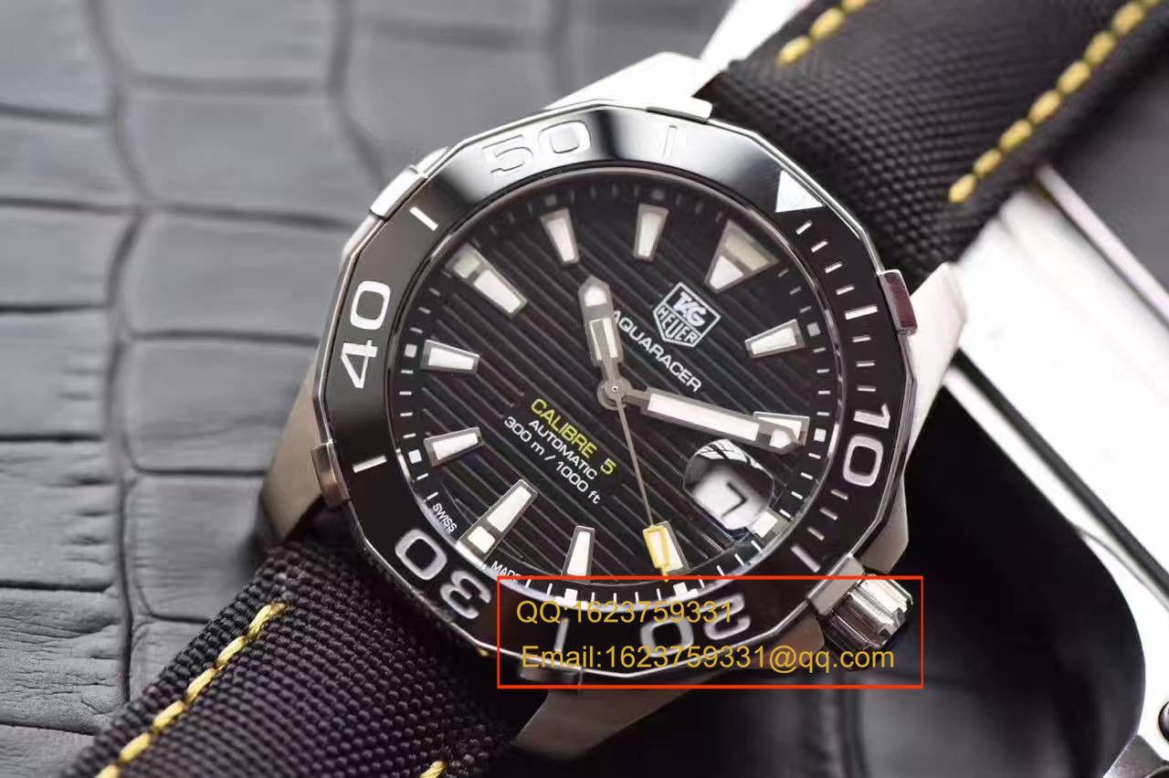 【HBBV6厂顶级1:1复刻手表】最新泰格豪雅竞潜精品、同步豪雅官方最新款WAY211A.FC6362 / TG046
