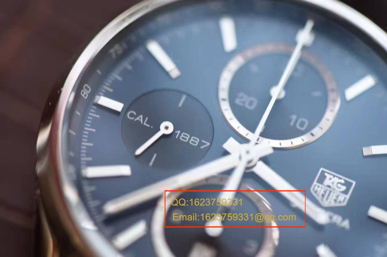 【视频解析】V6厂1:1复刻手表之泰格豪雅卡莱拉系列CAR2110.FC6266腕表 / TGB0041