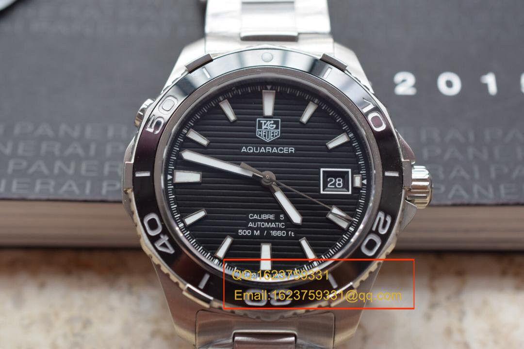 【视频评测HBBV6厂复刻手表】泰格豪雅竞潜系列WAK2110.BA0830男性腕表 / TG029.1
