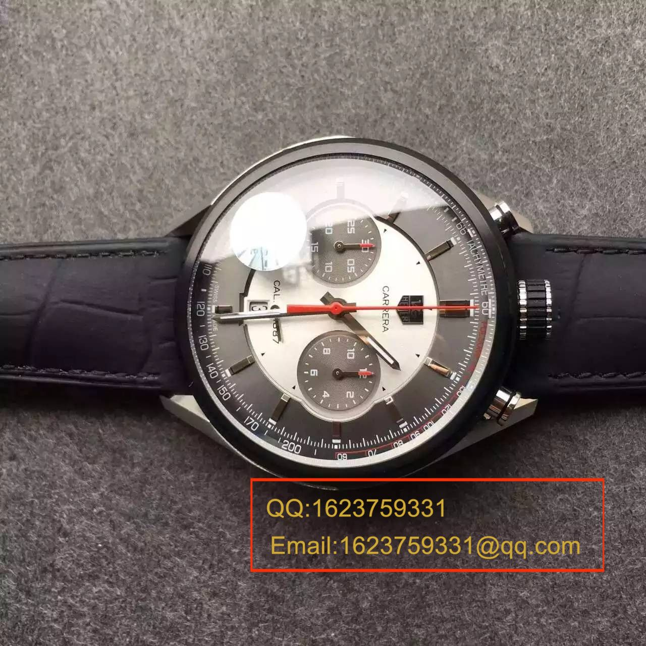 【V6厂超A复刻手表】泰格豪雅卡莱拉系列1887系列CAR2C11.FC6327Jack Heuer腕表 / TG010