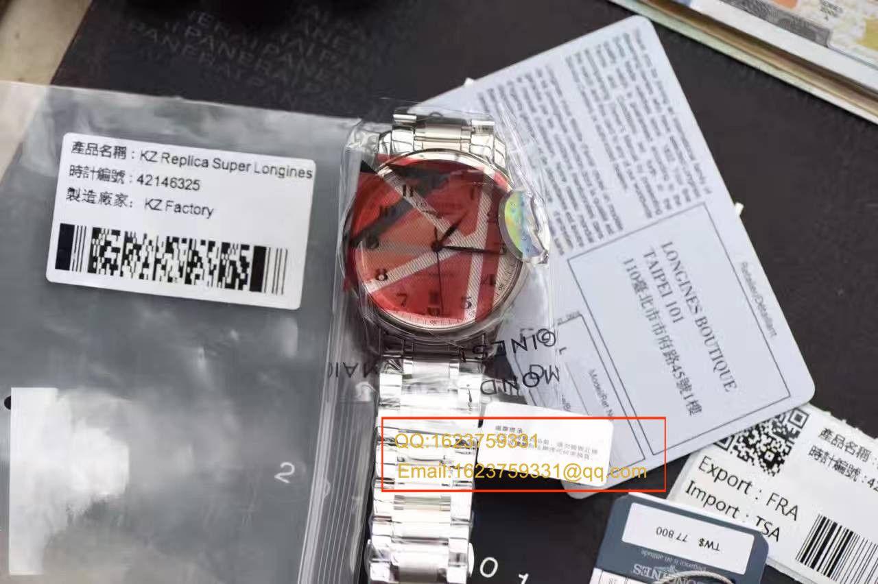 【视频评测台湾KZ工厂一比一超A高仿手表】浪琴制表传统名匠系列L2.628.4.78.6腕表L2.628.4.78.6腕表