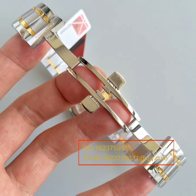 【KZ一比一超A精仿手表】浪琴名匠系列L2.628.5.78.7(钢带)、L2.628.6.78.3(皮带)间黄金单历腕表