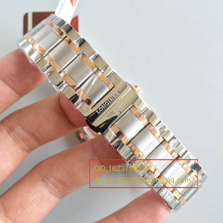 【KZ一比一顶级复刻手表】浪琴名匠系列L2.628.8.78.3间玫瑰金钢带版本腕表