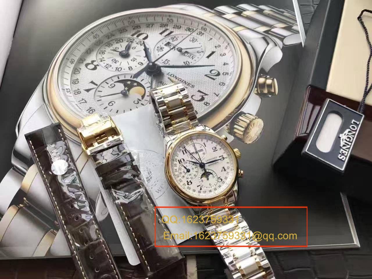 【视频评测YL厂复刻手表】浪琴名匠 L2.773.4.78.6月相 最新登场男表(认准自动锤L678.2刻字) / L059