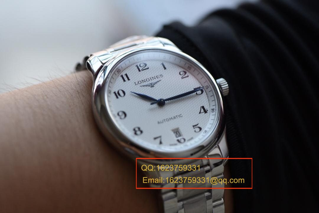 【视频解析MK厂1:1超A高仿手表】浪琴名匠制表传统系列L2.628.4.78.6男表 / LAH065