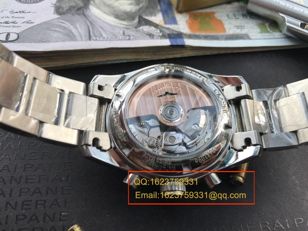 【视频评测YL厂1:1超A精仿手表】浪琴康铂系列月相腕表L2.798.4.72.6