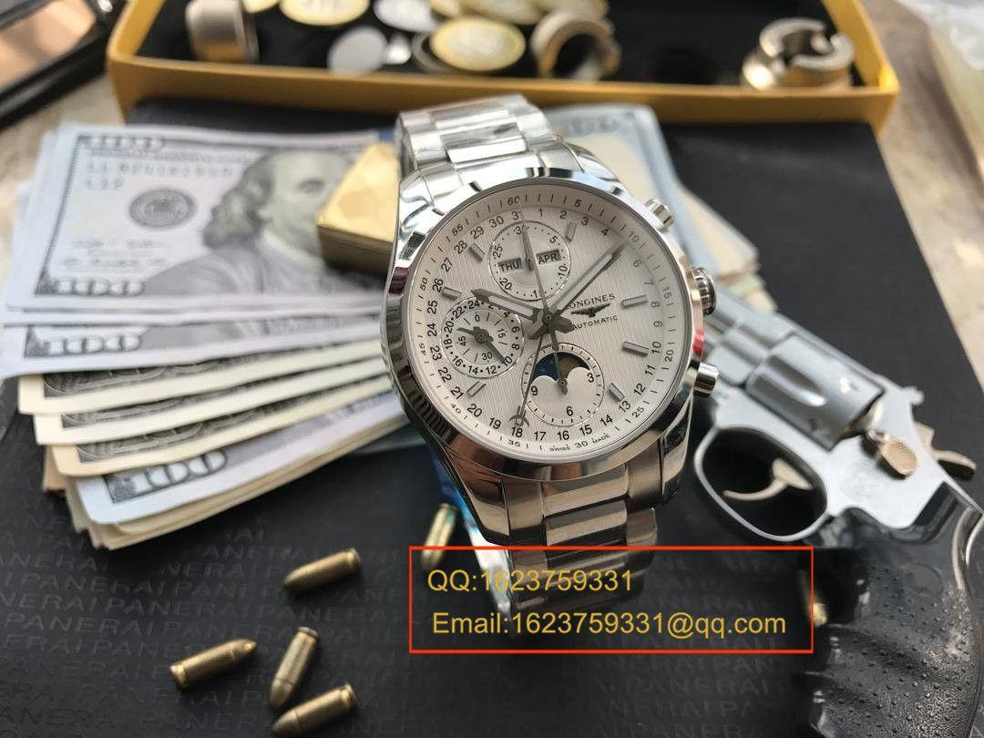 【视频评测YL厂复刻手表】浪琴康铂系列月相腕表L2.798.4.72.6 / LB0052
