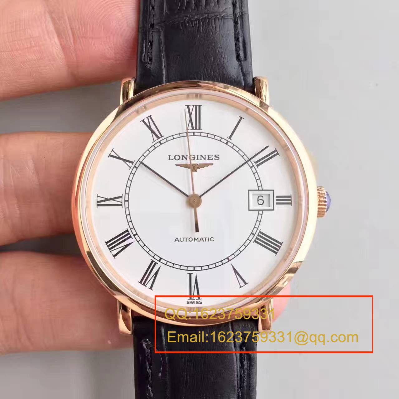 【台湾厂一比一超A精仿手表】浪琴制表传统博雅系列L4.787.8.11.0腕表