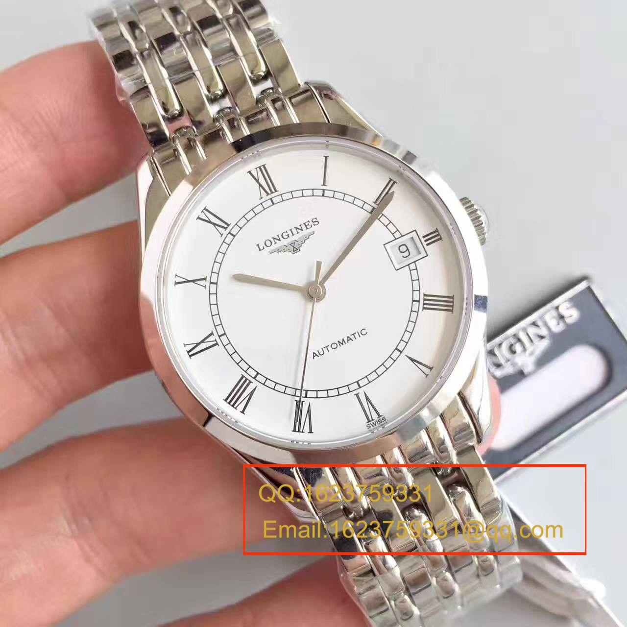 【台湾厂级复刻手表】浪琴雅致系列L4.898.4.11.6腕表 / L070