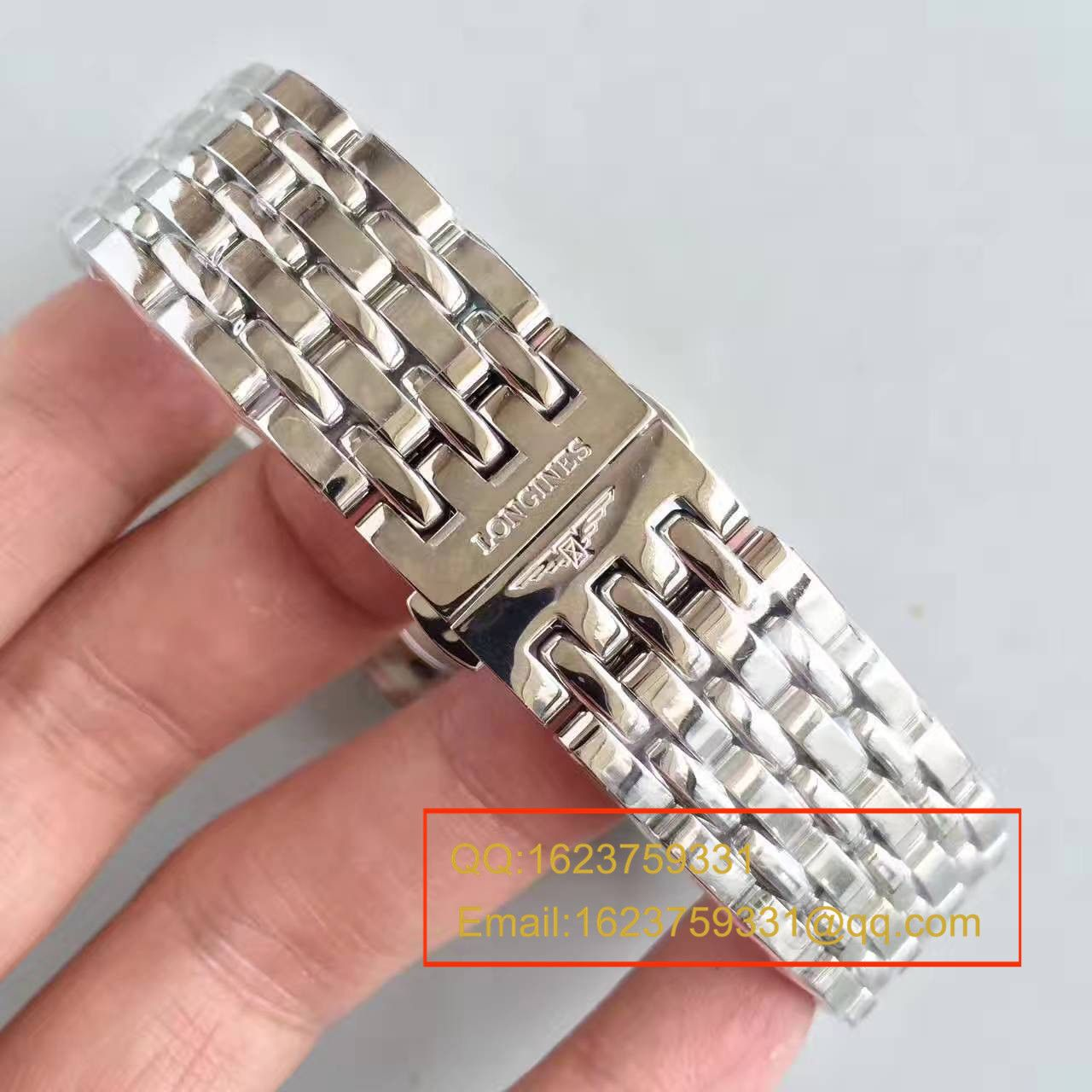 【台湾厂1:1复刻手表】浪琴雅致系列L4.898.4.12.6腕表