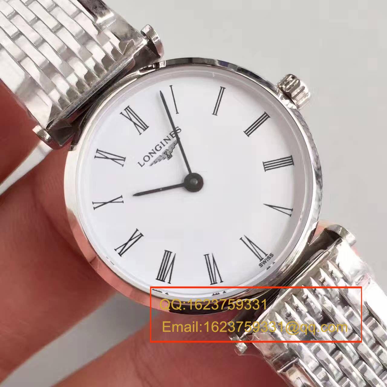 【MK厂一比一高仿手表】浪琴嘉兰系列L4.209.4.11.6女士腕表 / L073A