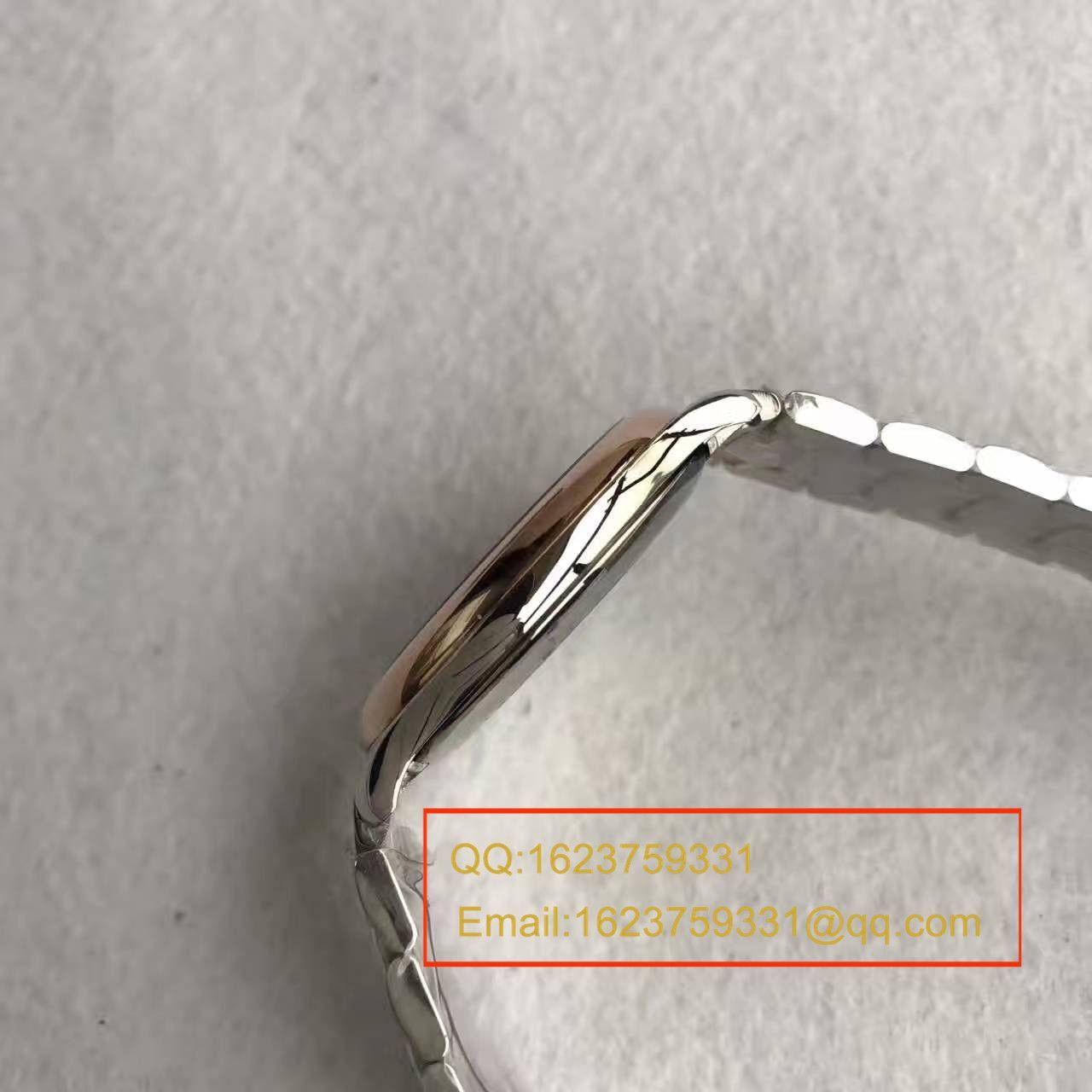 【MK厂一比一超A高仿手表】浪琴MASTER COLLECTION名匠系列L2.628.8.78.3腕表《搭配间金表带》 / L033