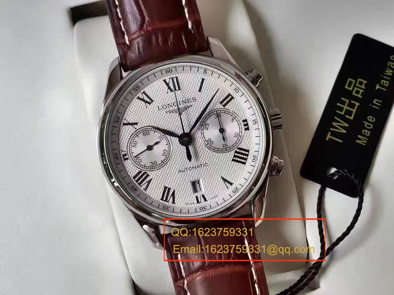 【TW台湾厂1比1超A高仿手表】浪琴制表传统名匠系列L2.629.4.78.3腕表 / L086