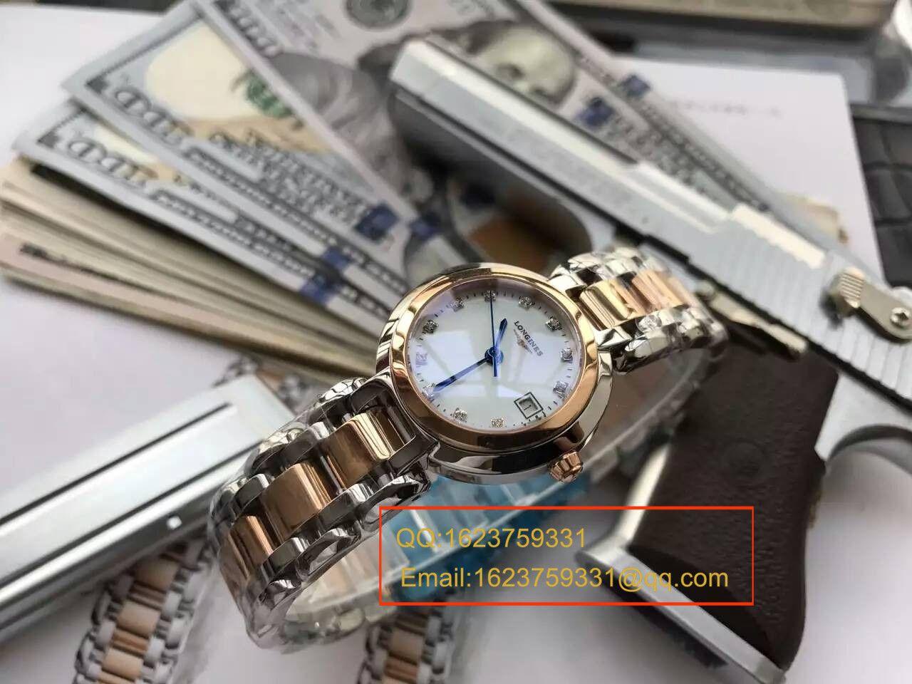 【KZ台湾厂一比一精仿手表】浪琴优雅 PRIMALUNA心月系列L8.109.5.87.6腕表