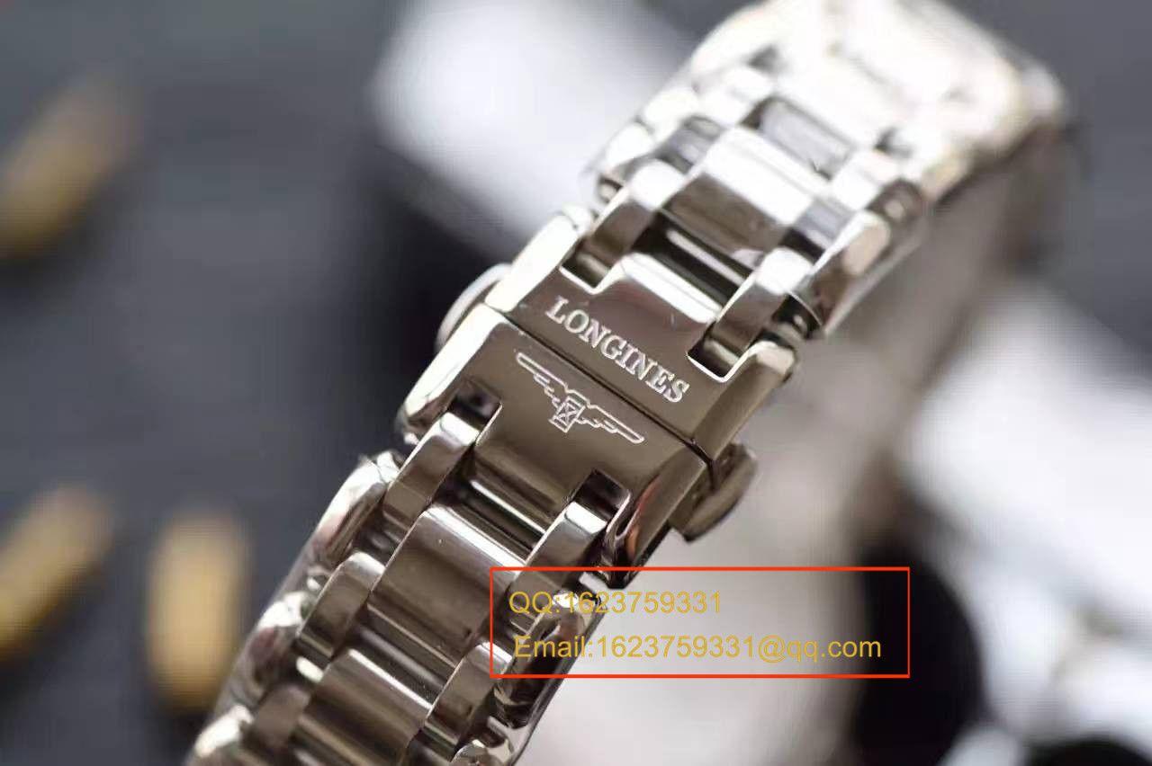【KZ台湾厂一比一高仿手表】浪琴优雅系列L8.109.4.87.6女士石英腕表
