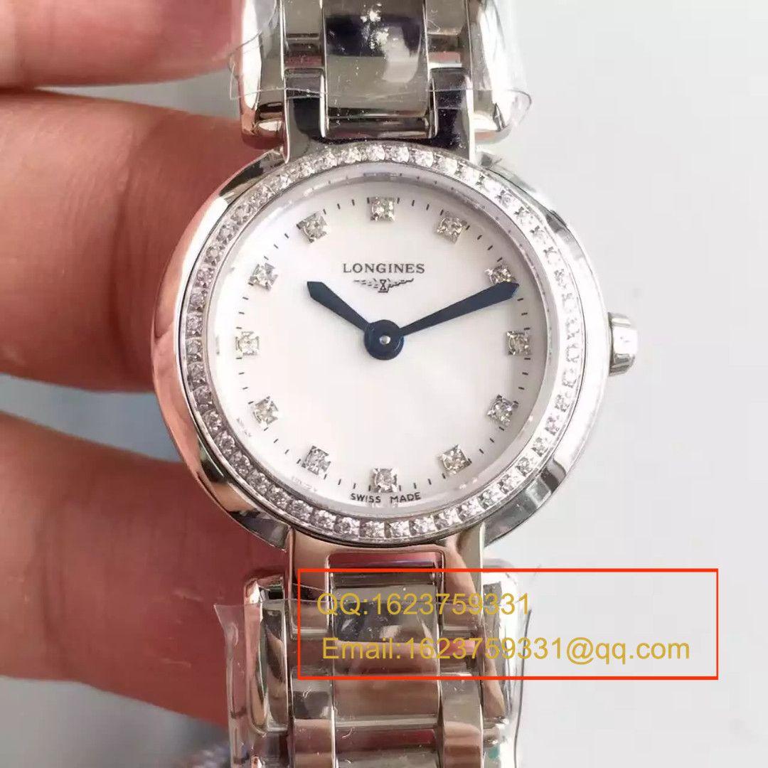 【KZ台湾厂超A复刻手表】浪琴优雅PRIMALUNA心月系列L8.109.5.79.6腕表 / L049