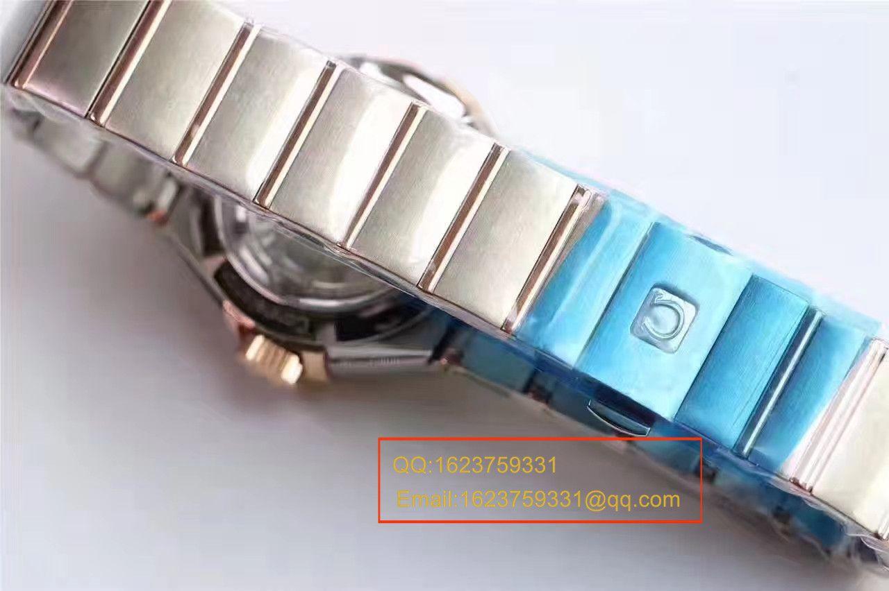 【HBBV6厂一比一超A复刻手表】欧米茄星座PLUMA轻羽系列123.20.27.60.57.002女士机械腕表 / M289