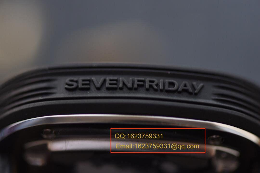【视频评测KW复刻手表】七个星期五Seven Friday P系列P3C/01腕表 / SFAF02