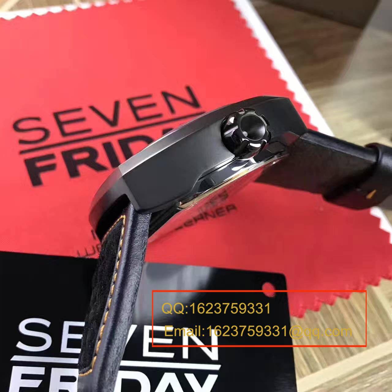 七个星期五 专柜正品原单 Seven Friday 自动机械男表绝对保真,不解释,看细节 / SFBG09