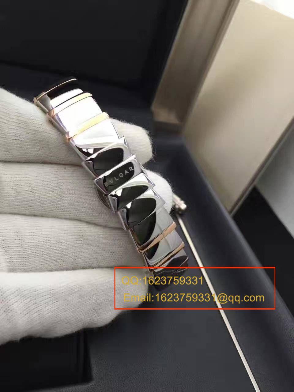 【BV厂一比一超A精仿手表】宝格丽LVCEA系列102198 LU33WSPGSPGD/11女士腕表 / BG017
