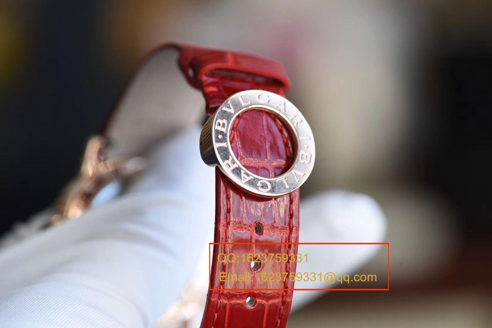 【TF厂1比1超A高仿手表】宝格丽BVLGARI∙BVLGARI系列102343 BBLP37SDGDLTB腕表