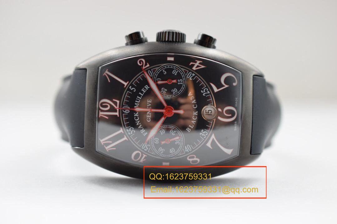 【V6厂超A精仿手表】法穆兰CASABLANCA系列8885 C CC DT NR 红色时标腕表