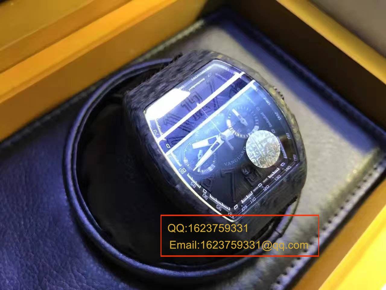 【视频评测LE一比一超A高仿手表】法兰克.穆勒Franck Muller NEW SARATOGE系列V 45 CC DT BLACK PXL腕表