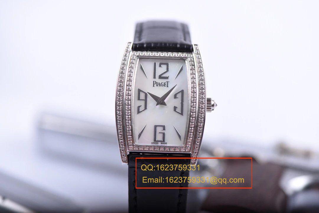【实拍图鉴赏】特价绝美精致伯爵LIMELIGHT系列G0A36191腕表酒桶女装手表 / 伯爵BOJ017