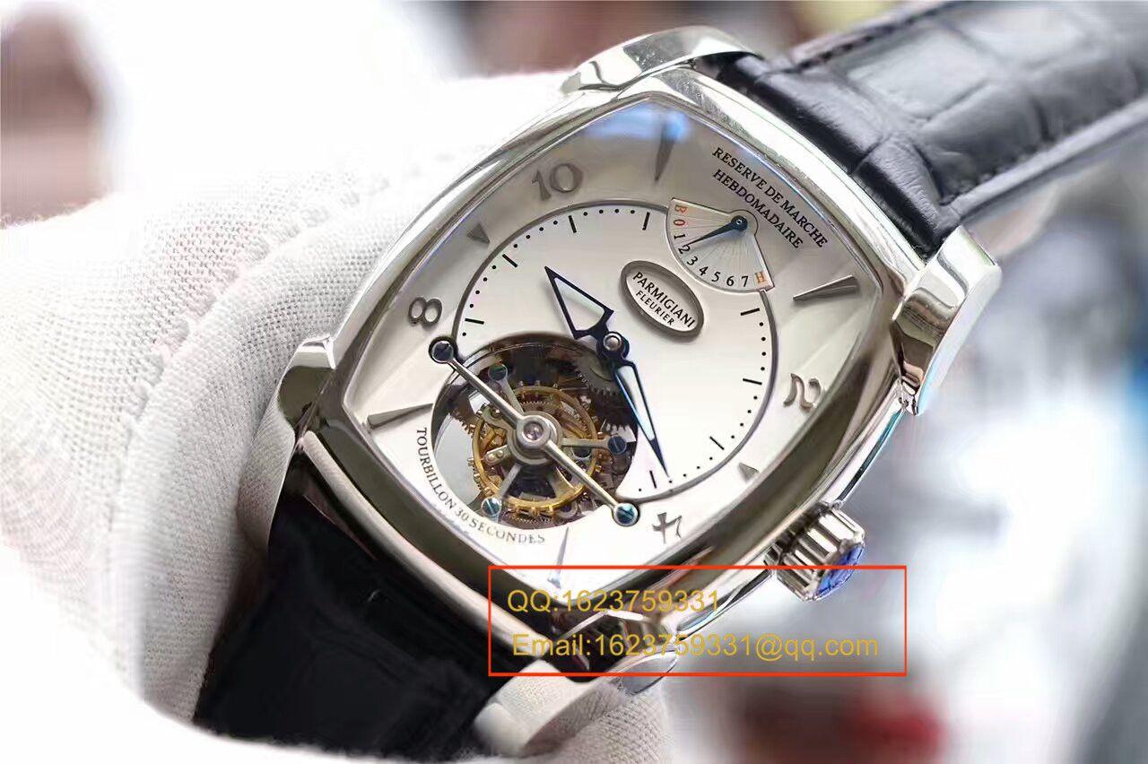 【视频评测BM1:1复刻手表】帕玛强尼TOURBILLON系列PF011255.01陀飞轮腕表 / PM014