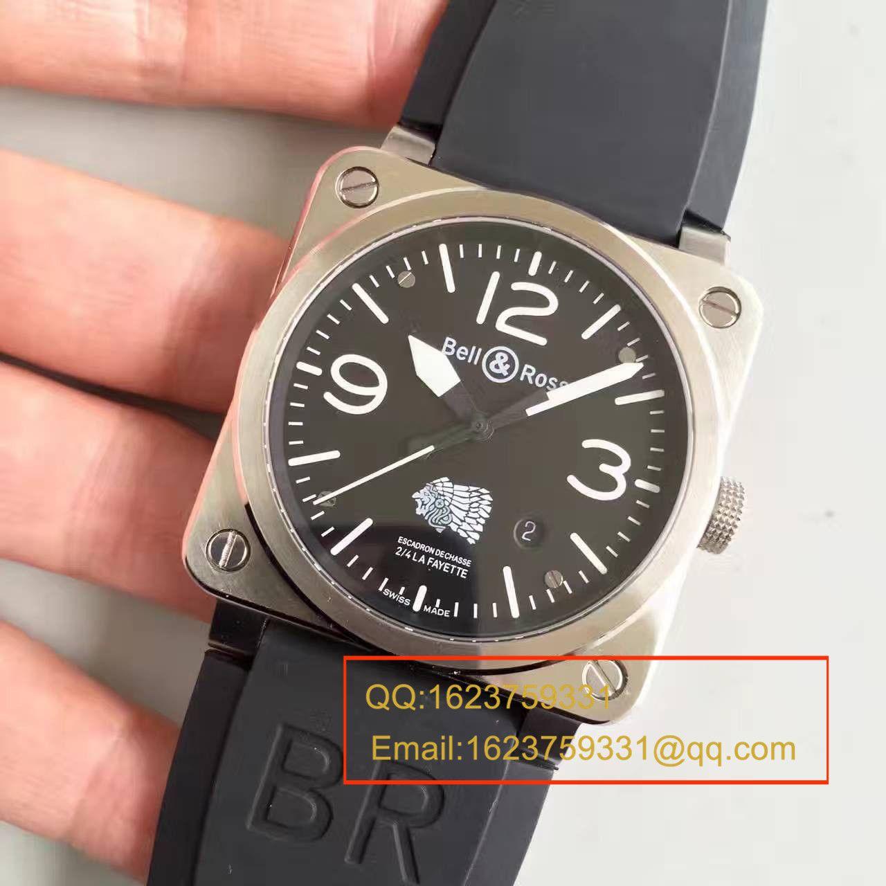 【BR厂一比一复刻手表】柏莱仕美军指定军表品牌印地安人头像 专属特别版腕表 BR03-92 / BLS013