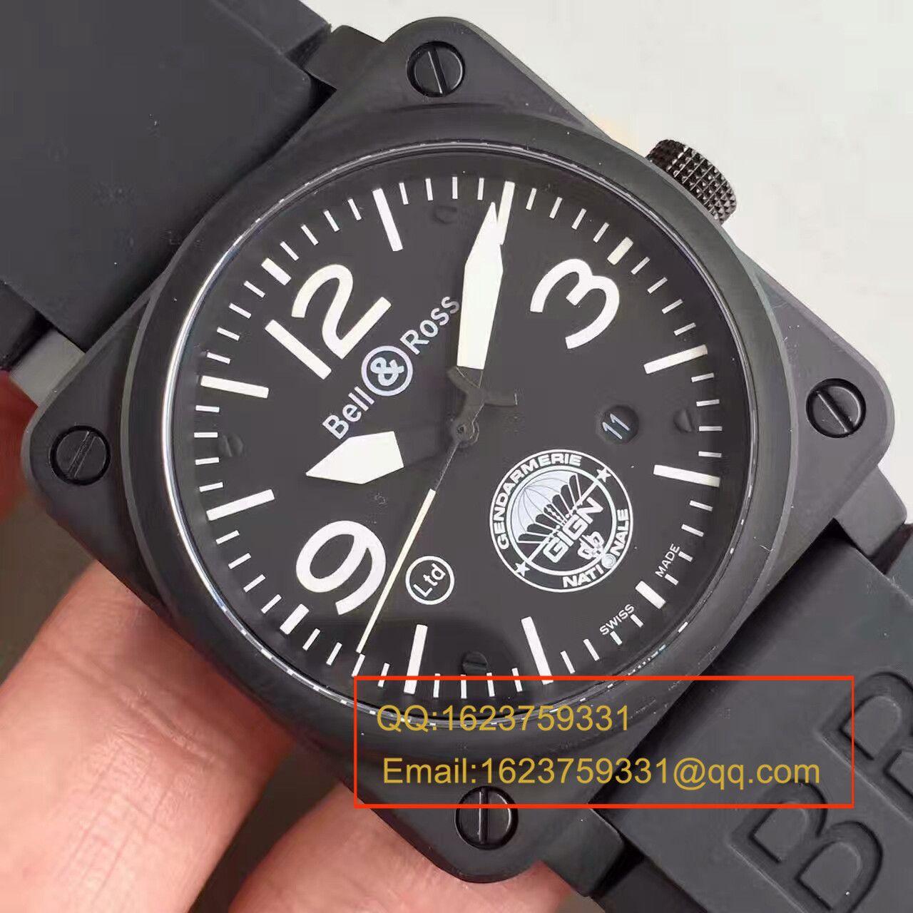 【BR厂一比一复刻手表】柏莱仕法国国家宪兵特勤队设计制造GIGN 专属特别版腕表 BR03-92 / BL012