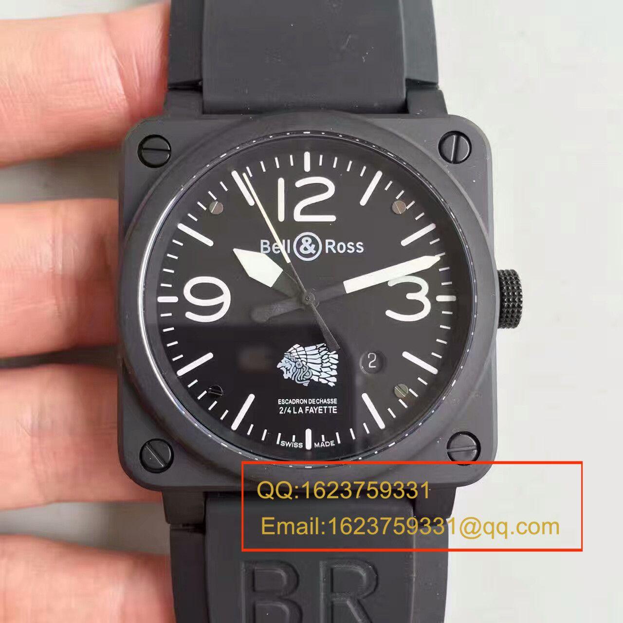 【BR厂一比一精仿仿手表】BR柏莱仕法国国家宪兵特勤队设计制造GIGN专属特别版腕表 BR03-92